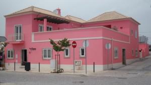 Casa vista do exterior